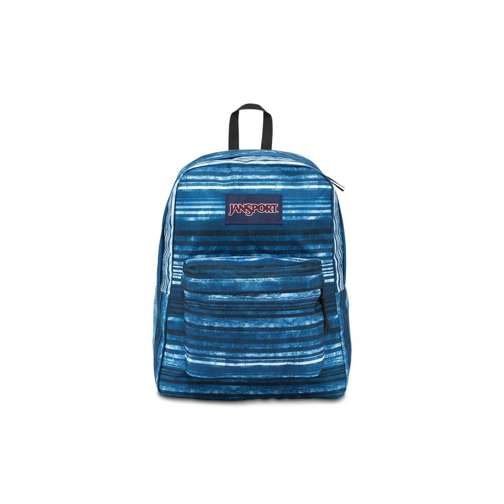 1d7e34f04965 JanSport Superbreak School Backpack - Multi Variegated Stripe - Silver