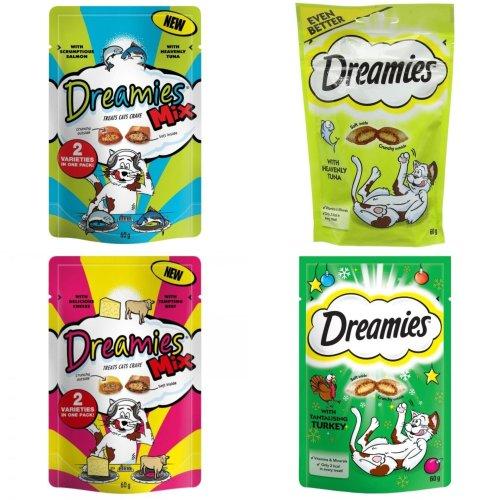 Dreamies Cat Treats (Pack Of 8 X 60g)