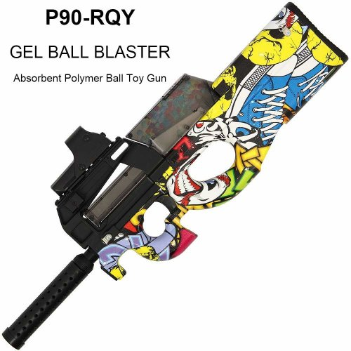 P90-RQY Gel Ball Blaster- Shape and texture emulation