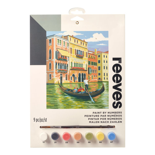 Reeves Painting By Numbers-Venice