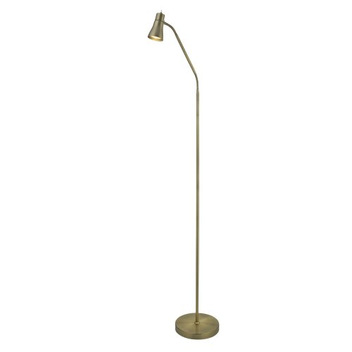 Searchlight Fusion Floor Lamp 1 Light With Flexi Head Ab