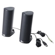 DELL AX210CR Stereo portable speaker Stand Black