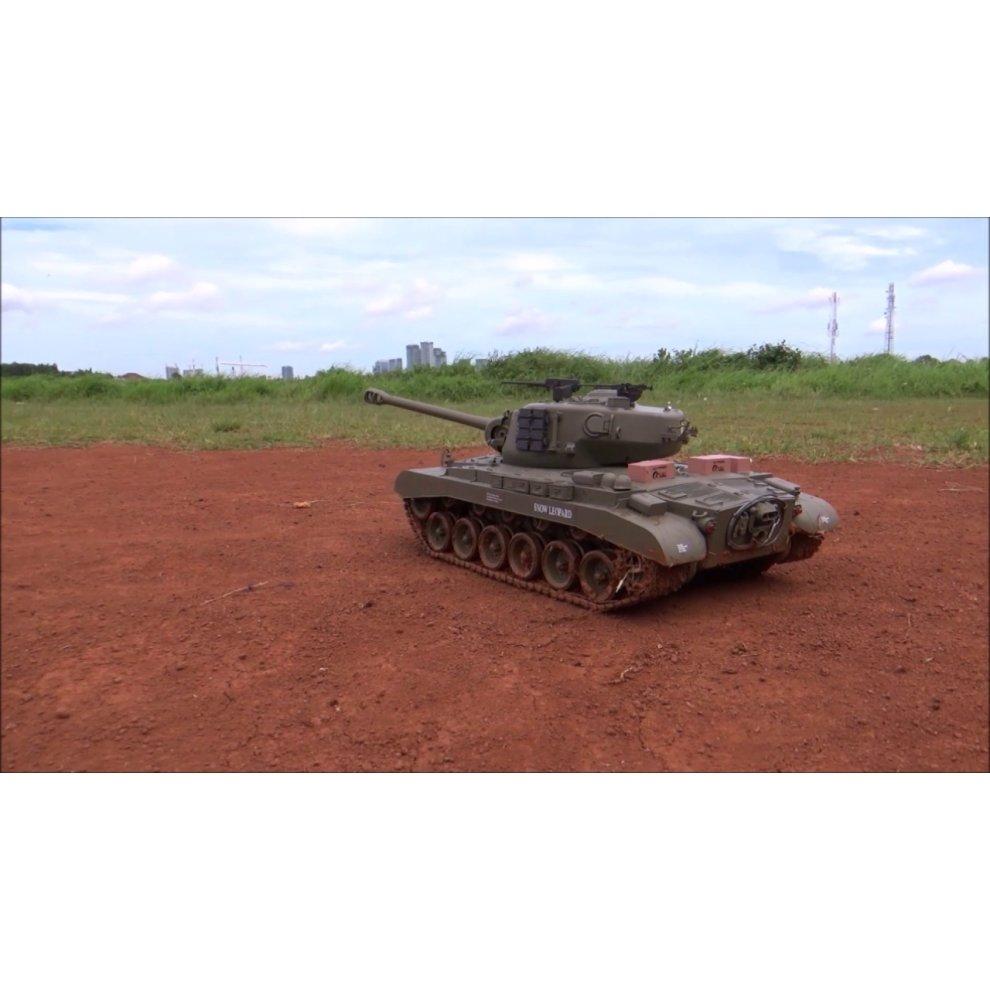 Remote Control Battle R/C Snow Leopard Battle RC Tank BB Shooting Heng Long  1:16