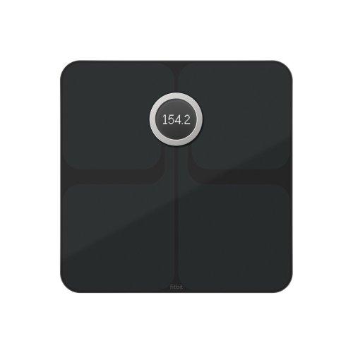 Fitbit Unisex Aria 2 Smart Scale, Black, Onesize