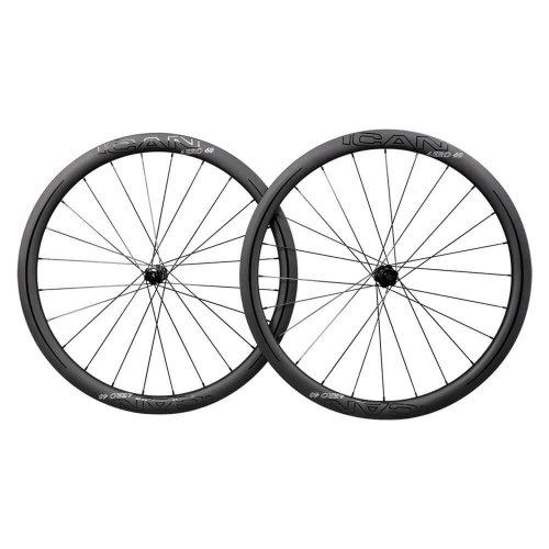 ICAN AERO 40 Disc DT CenterLock Carbon Wheels