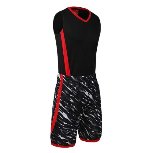 Jersey & Shorts Black Training Tank Top Suits Set