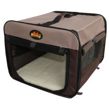 Lazybones Fold Flat Car Canvas Carrier Crate for Dog or Cat