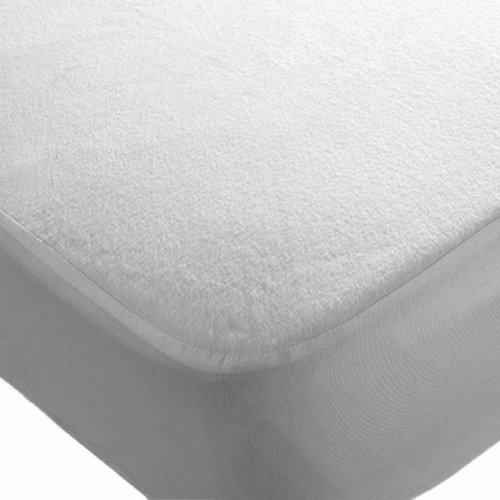 4x Cot 120 x 60 cm Waterproof Mattress Protector Fitted Sheets