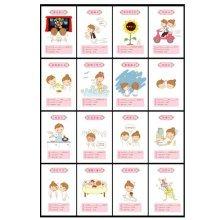 30PCS 1 Set Creative Postcards Artistic Beautiful Postcards, Love Exchange Cards