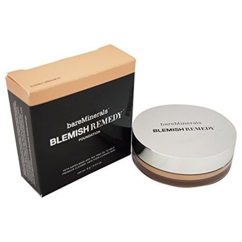 Bareminerals BAREBRFO4 0.21 oz Blemish Remedy Clearly Medium Foundation