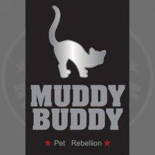 Muddy Buddy Cat Flap Dirty Paw Mat - Pet Rebellion Barrier Rug Mate -  pet rebellion muddy cat buddy barrier rug flap mate