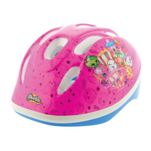 Shopkins Girl Collectible Safety Helmet, Multi Coloured, 48-52CM