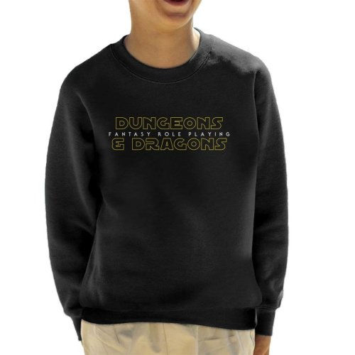 Dungeons And Dragons Fantasy Role Playing Kid's Sweatshirt