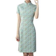 Elegant Chinese Dress Qipao Dresses Cheongsam Women Clothing Skirt XXL-08