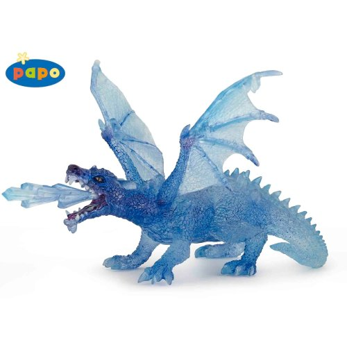 Papo Blue Crystal Dragon Figurine - Figure New Fantasy Tales Legends 38980 -  papo crystal dragon figure new fantasy tales legends 38980