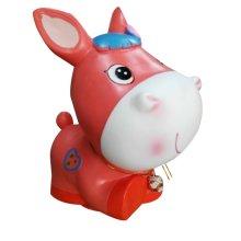 Orange Horse Coin Holder Piggy Bank Great Gift for Kids