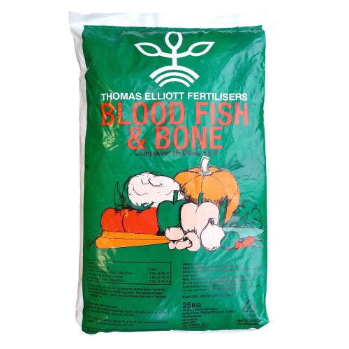 Blood Fish Bone Meal Multi Purpose Organic Fertiliser | 25Kg