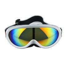 Snow Goggles Windproof Eyewear Ski Sports Goggle Protective Glasses Silver/Color