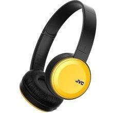 JVC JVC Deep Bass Bluetooth Wireless On Ear Headphone - Yellow (HAS30BTYE)