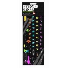 Random Keyboard Stickers