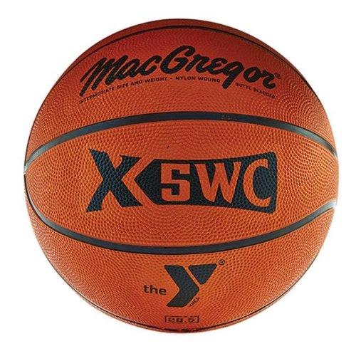 MacGregor 1334104 X5Wc Intermediate Basketball with YMCA Logo