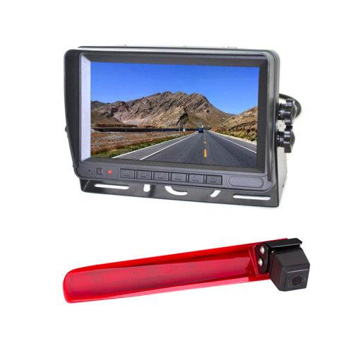 Vardsafe Reversing Camera + 7 Inch Digital Color Rear Monitor for Volkswagen Transporter T5 / T6 (with Twin Rear Doors)