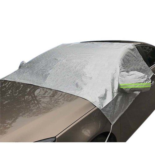 Auto Windshield Snow Cover All Seasons Visor Protector For Cars Car Windshield Cover In Winter #2
