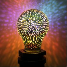 3D Fireworks Illusion Night Light