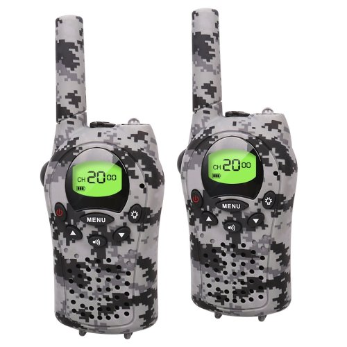 Kids Walkie Talkies, 22 Channel Two Way Radio Up to 3KM Handheld Walkie Talkies, Toys for 5-year Old Boys, Gifts for 7-year Old Boys and Girls