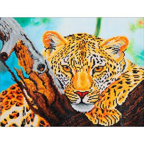 Needleart World DD7002 Diamond Dotz Diamond Embroidery Facet Art Kit - Leopard Look