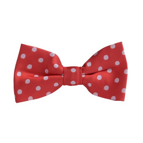 Fashion Designed Adjustable Neck Bowtie Boys Bow Tie [Pink]