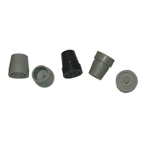 Walking Aid Ferrules - Packs of 3 and 4- Sizes 19mm, 22mm, 25mm and 28mm