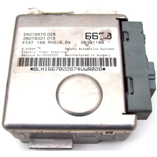 Fiat Punto EPS Electric Power Steering Column ECU 26076670028 26078331013 6670