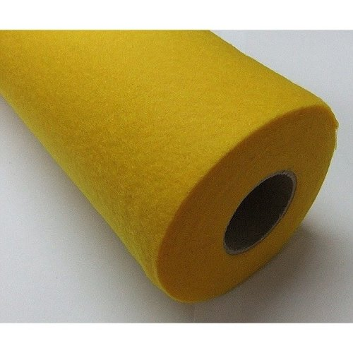 Pbx2470327 - Playbox Felt Roll(yellow) 0.45x5m - 160 G - Acrylic