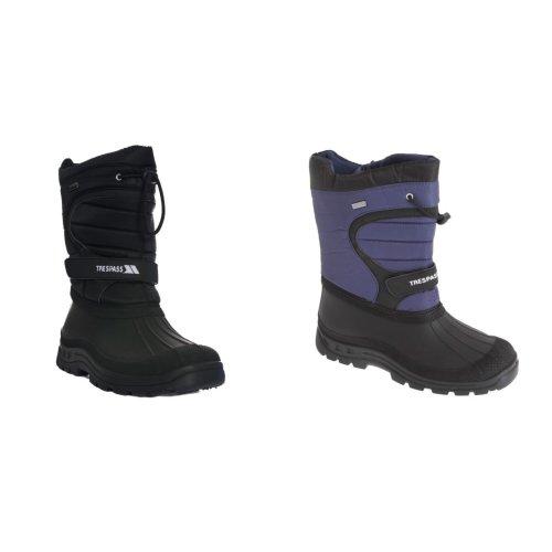 Trespass Unisex Dodo Pull On Winter Snow Boots
