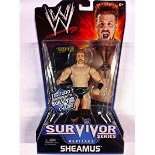 WWE Sheamus Limited Edition Survivor Series Figure Wrestling Figure New Sealed