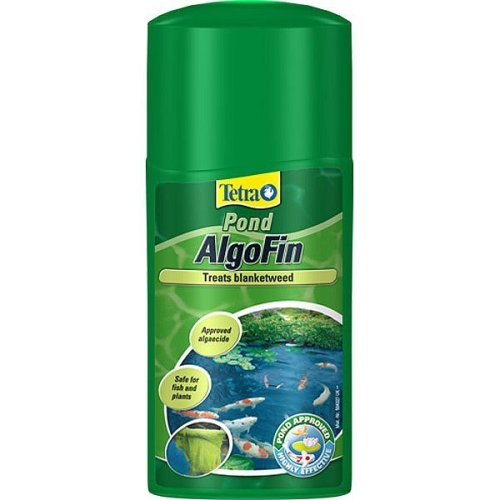 250ml Tetra Pond Algofin Weed Treatment - Fish Blanket -  algofin pond tetra 250ml treatment fish blanketweed