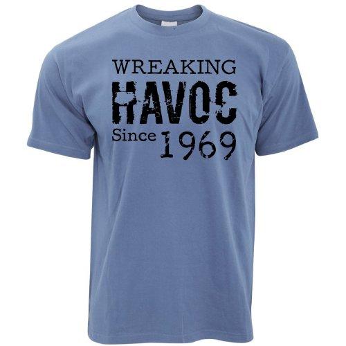 50th Birthday T Shirt Wreaking Havoc Since 1969 Gift Idea