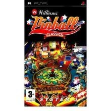 Williams Pinball Classics Sony PSP Game