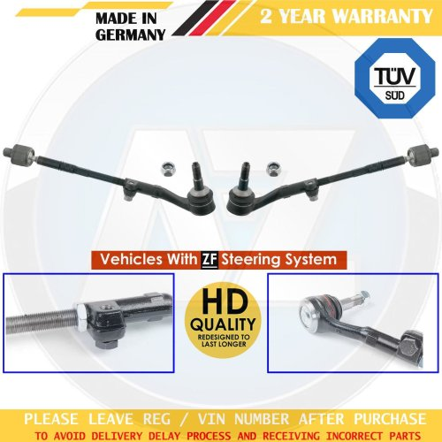 FOR BMW 3 SERIES E90 E91 E92 E93 FRONT INNER OUTER TRACK TIE ROD END ASSEMBLY