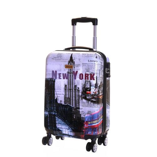 Karabar Falla Cabin 55 cm Hard Suitcase, New York