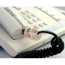 Lindy Telephone Cable Tangle Eliminator RJ-10 4P4C Transparent...