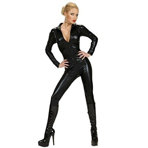 Stretch Fabric Catsuit - Black Costume Small For Nasa Outter Space ...