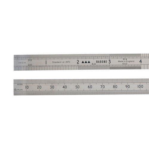 Stanley 0-35-432 64FR Rustless Rule 150mm / 6in