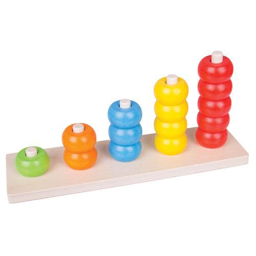 d9c4e2320e41 Bigjigs Toys Educational Wooden Counting