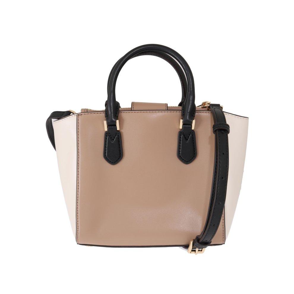 72520551e167 ... Michael Kors Handbags Beige CAROLYN Leather Tote Bag - 3 ...
