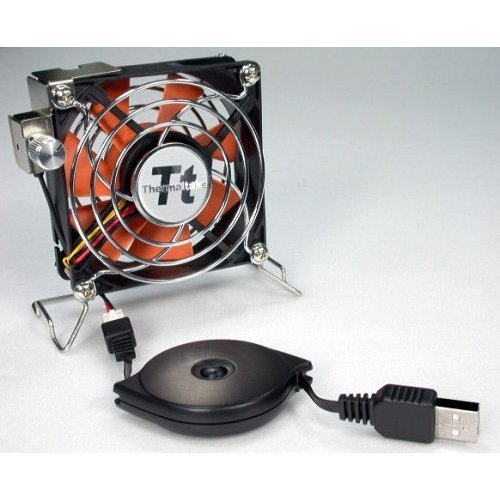 Thermaltake Mobile Fan II External USB Cooling Fan Us