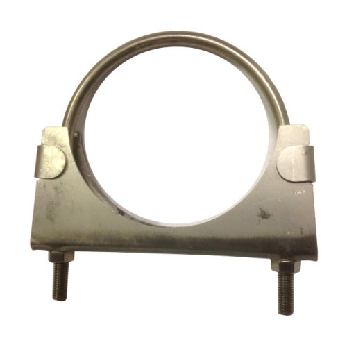 Heavy duty exhaust / hose clamp - 88.9 mm - T304 Stainless Steel