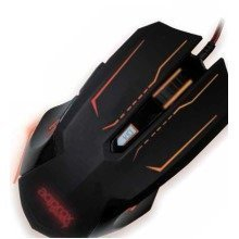 Approx Phantom Usb Optical 2400dpi Ambidextrous Black Mice
