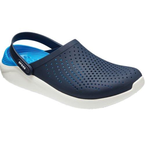 Crocs LiteRide Clog 204592-462 Mens Navy Blue slides Size: 5 UK